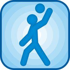 Free Handball Icon Stock Photography - 5958852