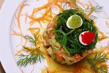Salad Acne. Stock Photography