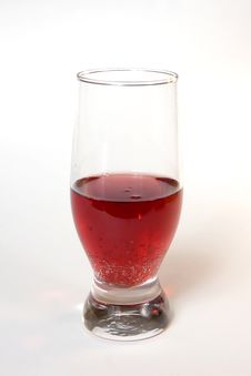 Free Red Champagne In A Glass Royalty Free Stock Images - 5959029