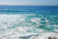 Free Beautiful Ocean Sea In Portugal Royalty Free Stock Photography - 59504997