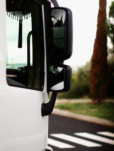 Free Lateral Close View Of  Truck . Stock Photos - 59570803