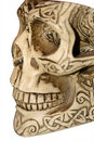 Free Skull With Ornaments Stock Photography - 5960462