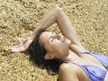 Free Girl At The Beach Royalty Free Stock Photo - 5960695