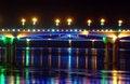 Free Bridge At Night Stock Photography - 5963142