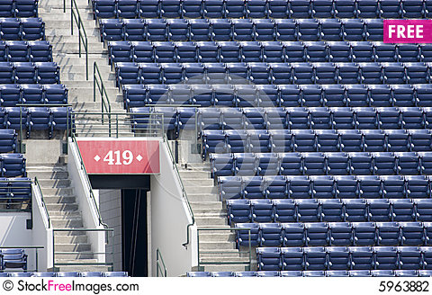 Free Empty Stadium Seating
