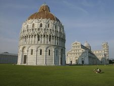 Free Pisa Tover, Chatedral. Stock Photography - 5960032