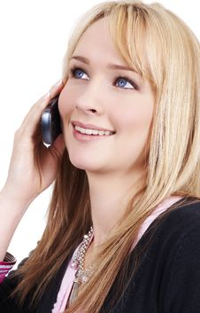 Beautiful Blonde Businesswoman Stock Photos