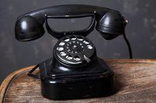 Free Black Telephone Stock Images - 5960834