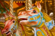 Carousel Horses Royalty Free Stock Image