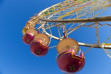 Free Fragment Of Observation Wheel Royalty Free Stock Image - 5961176