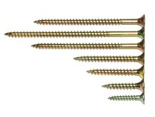 Free Screws Royalty Free Stock Photography - 5961447