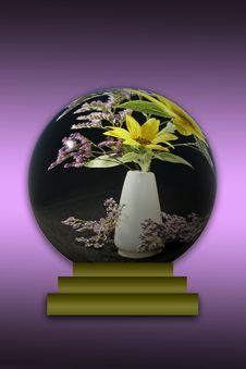 Free Sunflowers In Globe Stock Photo - 5961850