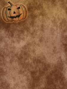 Free Halloween Parchment 2 Royalty Free Stock Image - 5961856