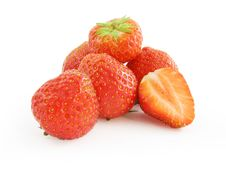 Free Juicy Strawberries Fruit Royalty Free Stock Photography - 5962157