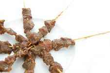 Free Satay Or Sate Stock Images - 5962774
