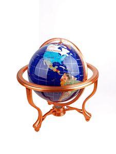 Free Shiny Semi Precious Stone Globe Stock Photo - 5962890