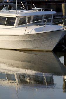 Free Boat Reflection Royalty Free Stock Photos - 5963188