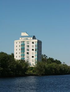 Free Luxury Condominium On Waterfront Stock Image - 5963651