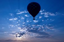 Free Sunset Balloon Stock Images - 5963654