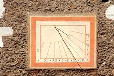 Old Sundial Royalty Free Stock Image