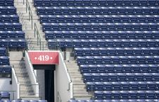 Free Empty Stadium Seating Stock Photography - 5963882