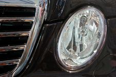 Free Detail Of A New Modern Black Car Royalty Free Stock Photos - 5964688