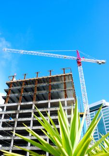 Free Construction Crane Royalty Free Stock Image - 5964766