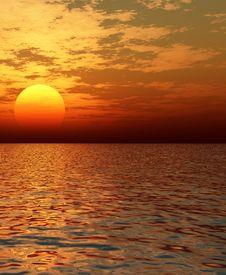 Free Beautiful Sunset Stock Photo - 5964930
