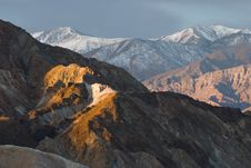 Artist S Palette In Death Valley Stock Photography