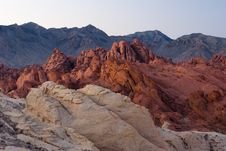 Free Colorful Rock Formation In Valley Of Fire Royalty Free Stock Photos - 5965058