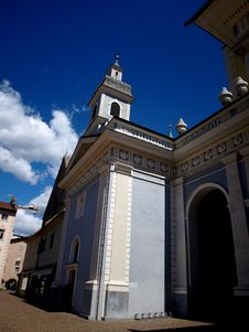 Free Glimpse Of The Bressanone Cathedral Stock Images - 5965294