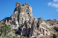 Volcanic City In Goreme Turkey Royalty Free Stock Images