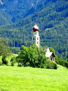 Free S.Valentino Church In Sud Tyrol Stock Images - 5965484