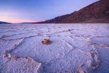 Free Lost Hat At Bad Water, Death Valley Royalty Free Stock Photos - 5965748