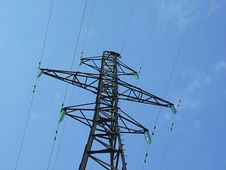 Free Energy Power Line Royalty Free Stock Photo - 5965795