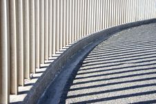 Free Curved Abstract Of An Urban Walkway Royalty Free Stock Photography - 5965977