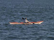 Free Paddler Stock Image - 5966051