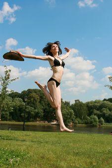Free Jumps Royalty Free Stock Photos - 5966378