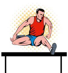 Free Hurdle Jump Stock Photo - 5966610