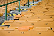 Free Rows Of Empty Stadium Seating Royalty Free Stock Photos - 5967008