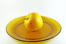 Yellow Apple Royalty Free Stock Photo