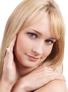 Free Portrait Of Beautiful Blonde Woman Royalty Free Stock Photo - 5967835