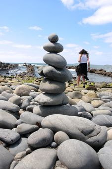 Zen Balance 10 Stock Image