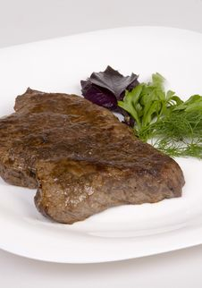 Free Fried Beef Steak Stock Images - 5967884