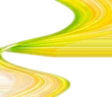 Free Yellow Fractal Lines Stock Image - 5968081