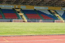 Free Tribunes Of New Stadium Royalty Free Stock Image - 5968216