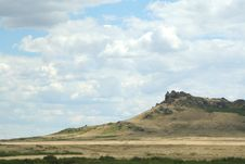 Free Steppe Landscape Royalty Free Stock Image - 5968616