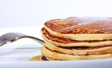 Free Plate Of Pancakes Stock Photo - 5968810