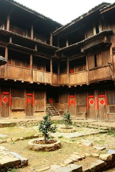 Free Fujian Tulou Royalty Free Stock Photos - 5968968