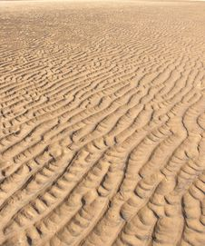 Free Sand Ripples Royalty Free Stock Images - 5969069